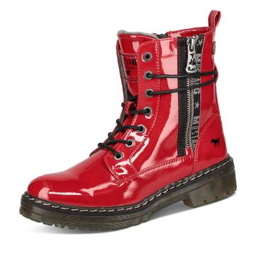 Mustang Schnürboots - rot