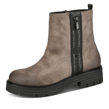 Tom Tailor Boots - taupe