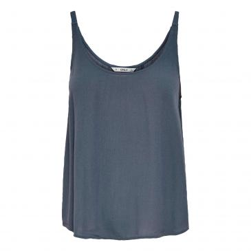Only Top - blau